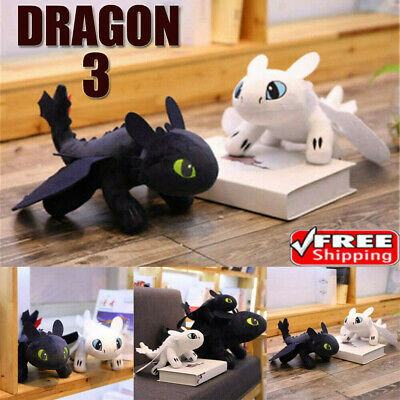 How To Train Your Dragon Monde Caché Glow In The Dark Peluche Plush Doll Jouet