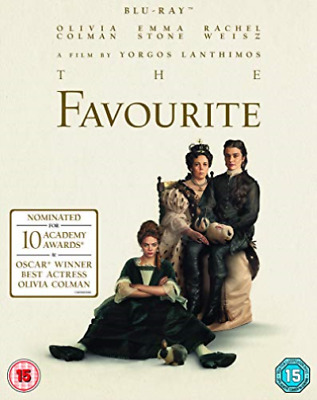 The Favourite BLU-RAY NEW