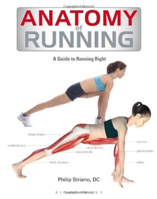 Anatomy Of Running (A Guide To Running Right) Paperback BOOK NEW