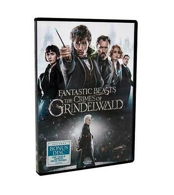 Fantastic Beasts: The Crimes of Grindelwald (DVD, 2019) DISC ONLY