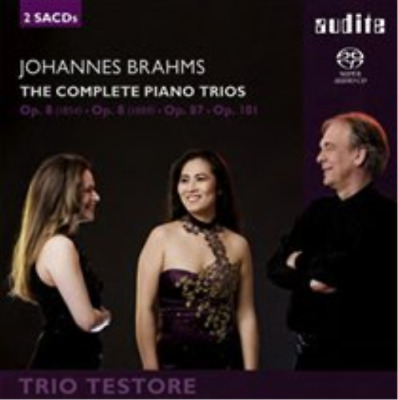 Johannes Brahms: The Complete Piano Trios SACD NEW