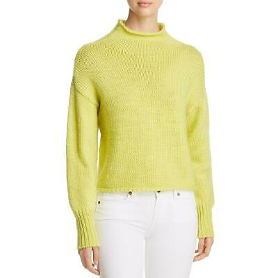 Heather B Womens Knit Belted Long Sleeves Pullover Sweater Top BHFO 1612