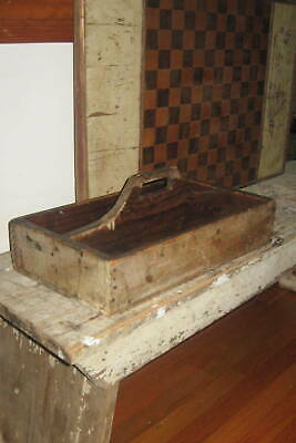 Excellent Antique Gameboard Game Board Best Form, Detail, Old Paint Aafa Nr
