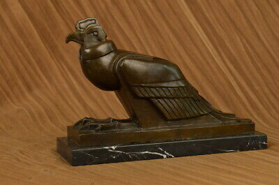 An Egyptian Style Figure Of The Horus Falcon, New Kingdom By European Bronze Art