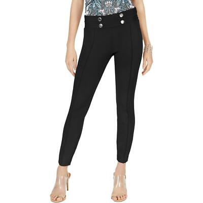 INC Womens Embellished Mid-Rise Slim Fit Ankle Pants BHFO 1446