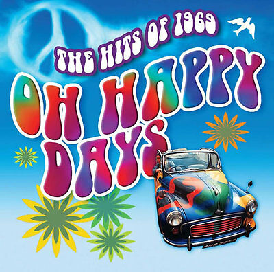 The Hits Of 1969 - 1960s 60s Music - New Sealed