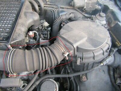 JAGUAR XF X250 2.7D//3.0D//3.0//4.2 FRONT PANEL AIR INTAKE PIPE AIRBOX DUCT 08-15