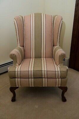 Ethan Allen Queen Anne Style Living Room Chair 200 00