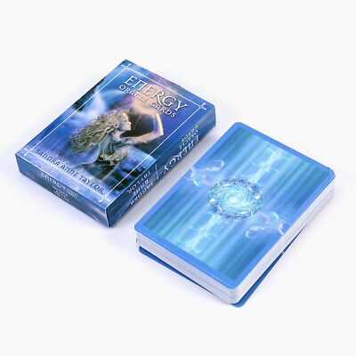 New 53 Energy Oracle Tarot Cards Deck Kit Set Fantasy With Guidebook
