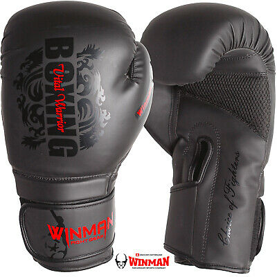 Boxing Gloves MMA Mitts sport Sparring kickboxing Punch Bag Muay Thai Training