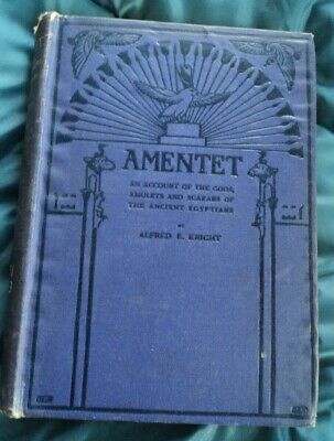 AMENTET account of gods amulets scarabs of ancient egyptians ALFRED KNIGHT 1915