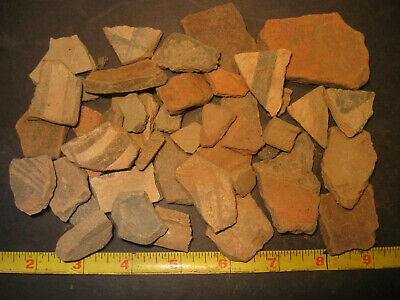 Pre-Columbian Terra-Cotta Pottery Shard Lot, Apaseo Grande Mexico, #PC3