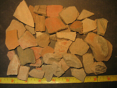 Pre-Columbian Terra-Cotta Pottery Shard Lot, Apaseo Grande Mexico, #PC5