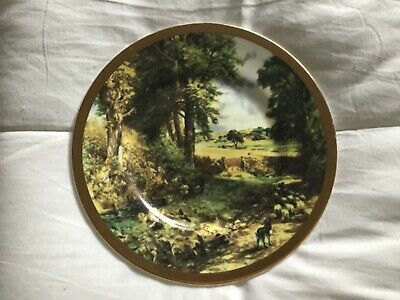 "Vintage Collectors Plate by John Constable  featuring ""The Cornfeld"""