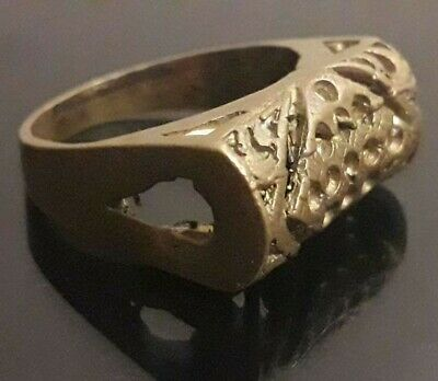 Antique Ring Ancient Bronze Unique Rare Wearable Viking Artifact Extremely Old