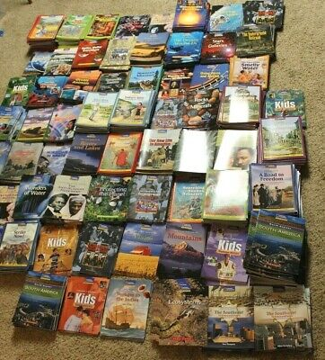 Huge Lot 1025 National Geographic Reading Expeditions Guided Student Reader Set