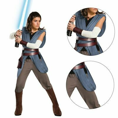 New Authentic $45 Disney Star Wars REY The Last Jedi Costume Size 9//10