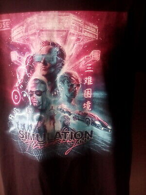 Muse, Simulation Theory tour shirt 2019( Extra Large