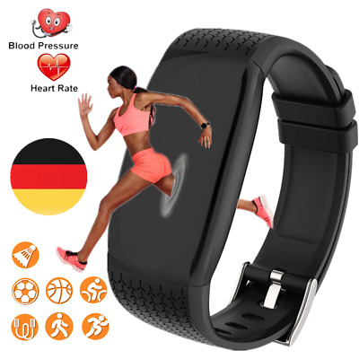 Smart watch Sport Band Blood pressure Fitness Activity Trackers IP67 Android IOS