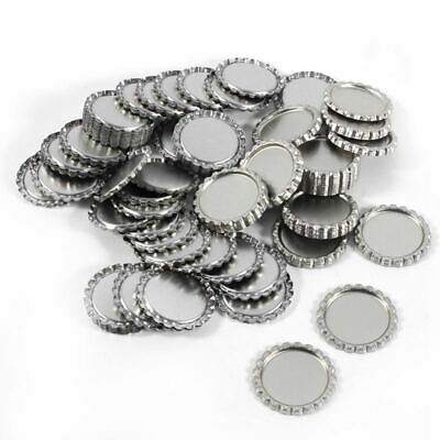 2X(1 Inch Bottle Caps For Crafts Wall Decor Flattened Bottle Cap Without Ho4I3)