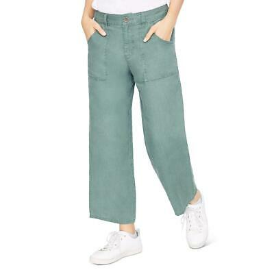 Sanctuary Womens Traveler Wide Leg Cropped Casual Casual Pants BHFO 4260