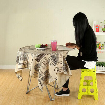 Blesiya 32cm Folding Step Stool Foldable Plastic Multi Purpose Home Kitchen