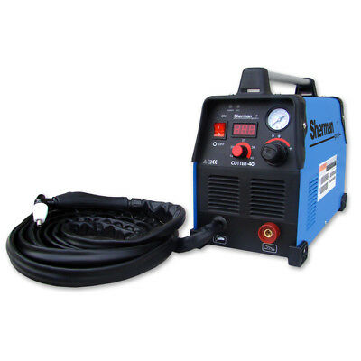 40 Sherman Plasma Cutter HF Cut Range 14-45A Inverter Max Thickness 9mm cut 230V