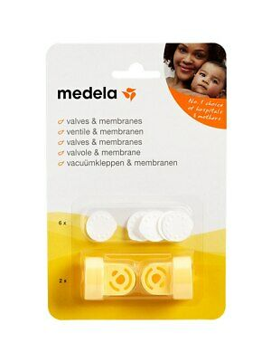 Medela 2 x Valves & 6 x Membranes for Harmony, Mini Electric & Swing Breastpumps