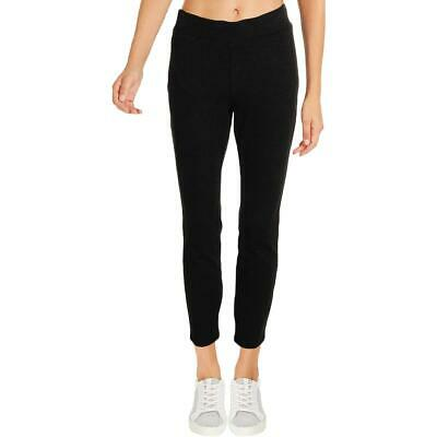 NYDJ Womens Gray High Rise Heathered Business Leggings Petites 00P BHFO 4356