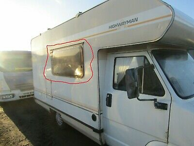 Fiat Ducato front right side Window motorhome Campervan 1982 -1990 highwayman