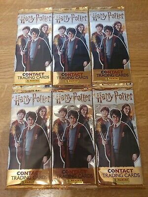 Panini Harry Potter Trading Cards 6 Packets New&Sealed