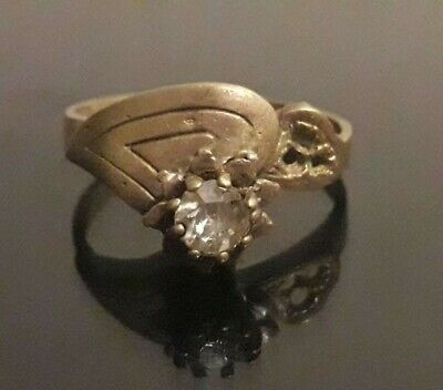 Ancient Viking Ring Wedding Bronze Artifact Very Rare Lake Ladoga Old Jewelry