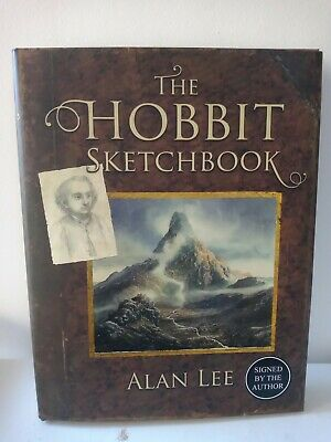 Signed Book - The Hobbit Sketchbook by Alan Lee