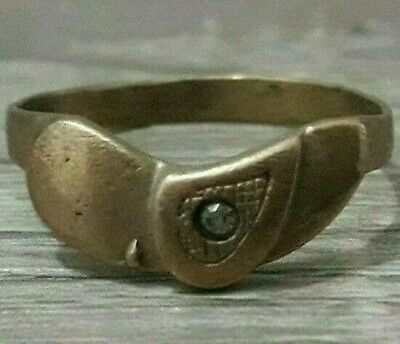 Ancient Ring Bronze Artifact Viking Lake Ladoga Unique Extremely Rare Antique