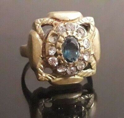 Magic Rare Ancient Ring Odin Nordic Methodology Jewelry Artifact Old Viking
