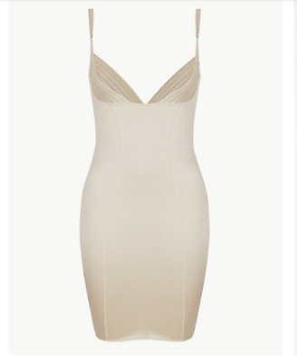M&S Collection Firm Control Wear Your Own Bra Slip Nude Slimming Cupless Smooth