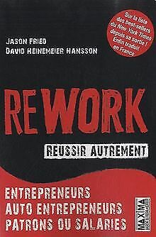 Rework - Réussir autrement by Jason Fried, David Hein... | Book | condition good