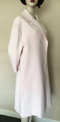 Paul Smith,Made in Italy,Light Pink,Oversized Classic Open Front Womens Coat,M