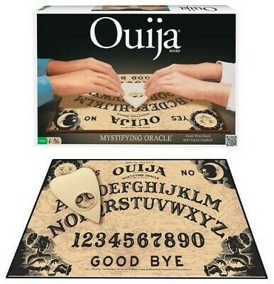 Classic Ouija Game Planchette Included Sturdy Wooden Use as Halloween DÃ cor
