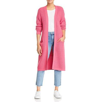 Sanctuary Women's Ribbed Knit Long Sleeve Duster Cardigan Sweater