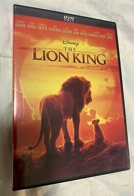 The Lion King DVD (2019 Live Action) ~~AWESOME DEAL~~ FREE SHIPPING