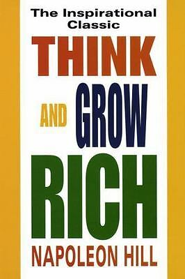 Think and Grow Rich by Napoleon Hill (1996, Paperback, Revised)