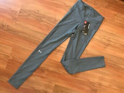 NEW Ladies GREY UNDER ARMOUR GYM / FITNESS LEGGINGS (XS) *BNWT*