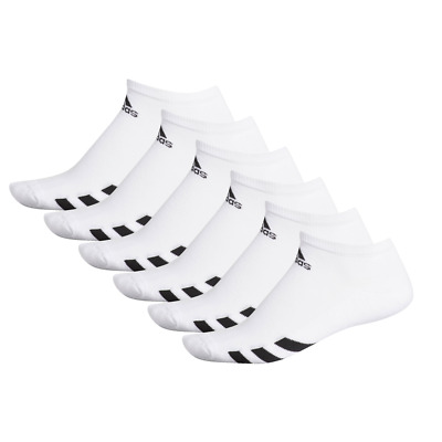 Adidas 2019 6-Pack Tobillo Hombre Sports Calcetines (Blanco)