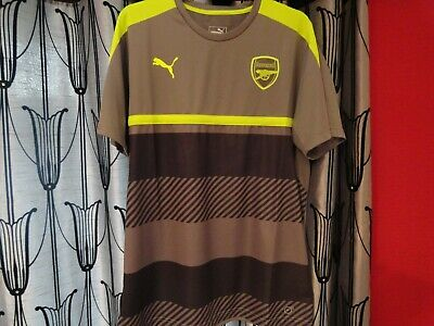 2 official arsenal fc casual wear shirts mens XL puma excellent condition