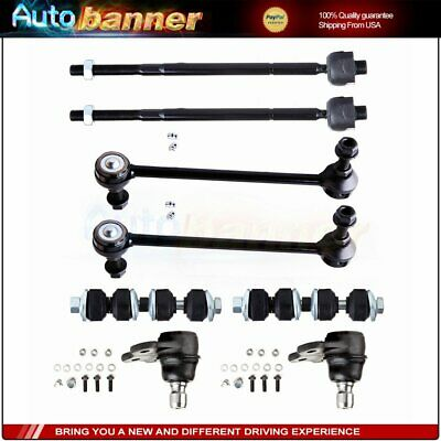 Fits 01-05 L100 L200 L300 2 Lower Control Arm /& Ball Joint Tie Rods Sway 8Pc