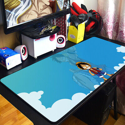 Japan Anime ONE PIECE Large Mouse Pad Keyboard Desk Mat Pad MousePad