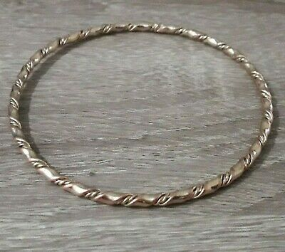 Antique Twisted Bracelet Viking Unique Stunning Artifact Nordic Jewelry Bronze