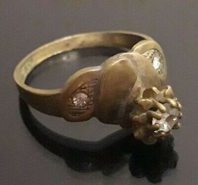 Ancient Wedding Ring Old Viking Unique Stunning Extremely Rare Antique Jewelry