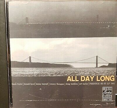 Kenny Burrell / Donald Byrd. All Day Long. CD